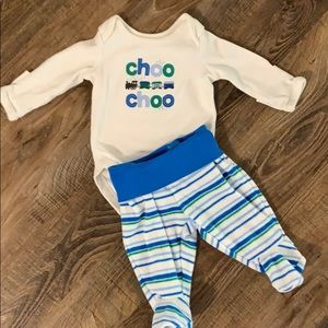 Gymboree Choo Choo Train Outfit